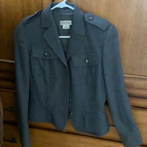Michael kor Grey wool Jacket